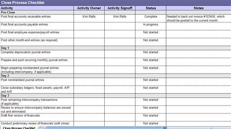 closing process checklist closing process