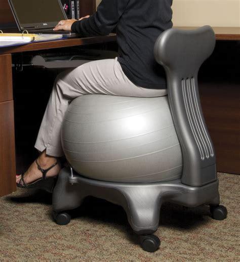 chaise de bureau ballon swiss exercise balls