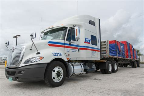 Trucking Companies Hiring Recent Cdl Graduates by Driving At Ct Transportation