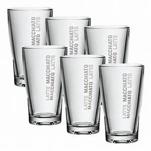 Latte Macchiato Gläser Wmf : wmf barista latte macchiato glas set 6tlg wmf glas 265 ml 0954142040 ebay ~ Whattoseeinmadrid.com Haus und Dekorationen