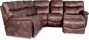 four piece reclining sectional sofa with las reclining With 4 piece recliner sectional sofa
