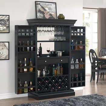 bars wine cabinets costco