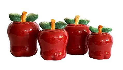apple canisters for the kitchen awardpedia apple kitchen decor cookie jar canister