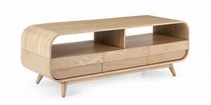 Meuble Tele En Bois : meuble tv bois naturel ~ Melissatoandfro.com Idées de Décoration