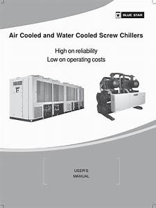 Blue Star Chiller Air  U0026 Water Cooled Screw Chiller R22 Dx