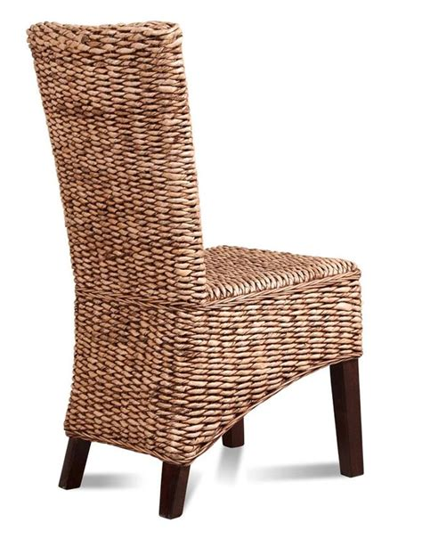 wicker rattan dining chairs home design ideas