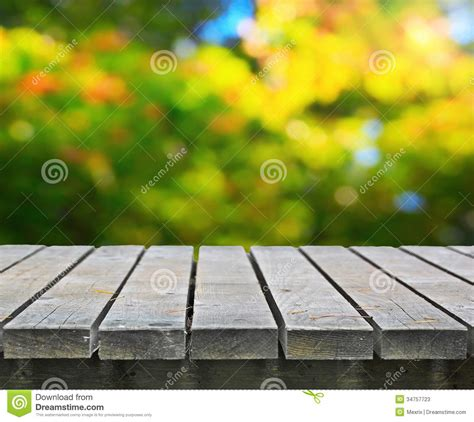 picnic table stock image image  growth lawn long