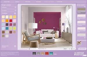 Schlafzimmer Beispiele Farbgestaltung : so funktioniert der sch ner wohnen farbdesigner sch ner wohnen ~ Markanthonyermac.com Haus und Dekorationen