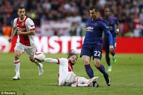 Europa League Final Live Score Manchester United Ajax