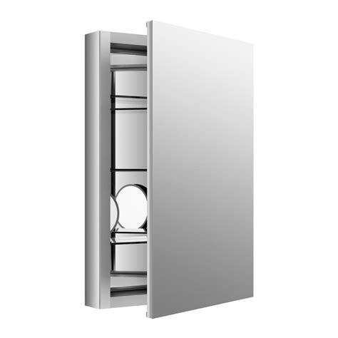 kohler archer medicine cabinet kohler archer 20 in w x 31 in h single door mirrored