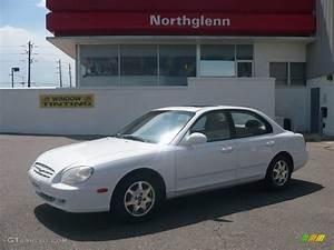 2000 Noble White Hyundai Sonata Gls V6  13359615