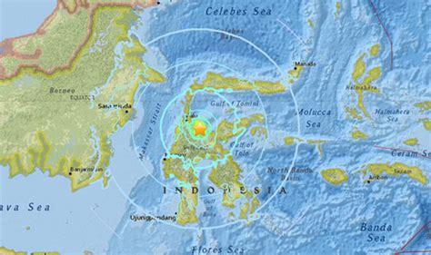 indonesia earthquake  magnitude quake strikes sulawesi