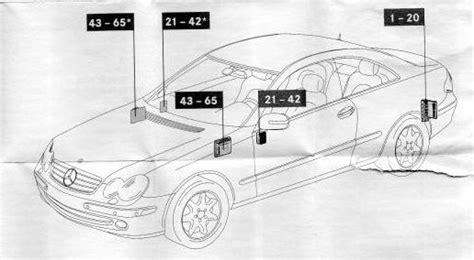 Mercedes Benz Clk Class Fuse Box Auto Genius