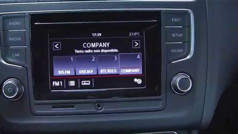 vw radio composition colour composition colour infotainment of volkswagen polo my 2014 restyling