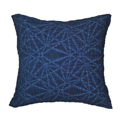 lea cushion cover 50x50 cm insignia blue broste copenhagen royaldesign