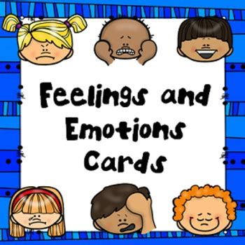 feelings and emotions cards by joyful explorations tpt 668 | original 1651017 1