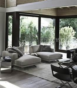 Chambre Ambiance Zen : idee deco salon moderne zen pr l vement d ~ Zukunftsfamilie.com Idées de Décoration