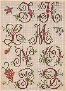 cursive alphabet and needlepoint on pinterest With needlepoint alphabet letters