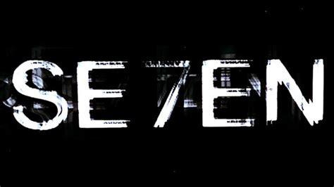 se7en 1995 art of the title