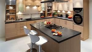 amenagement de cuisine cuisine ouverte pas cher cbel With amenagement d une petite cuisine