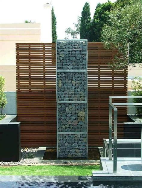 gabionen selber bauen diy trockenmauer gabionen steinwand selber bauen ohne beton archzine net