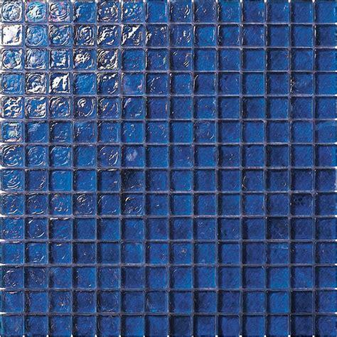 blue glass tile 3 4 x 3 4 glass tile mosaic gc005 rippled glass dark blue iridescent