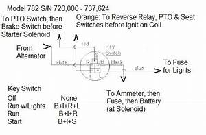 Ignition Switch Wiring Diagram Cub Cadet