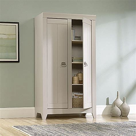 kitchen cabinets to the ceiling sauder adept cobblestone storage cabinet 418140 the home 8154