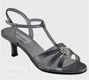 wide width dress shoes for wedding opal 39 s dress shoes and bridesmaid shoes in pewter metallic wide width bev 39 s wedding