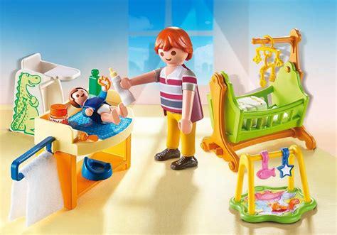 castel femme de chambre chambre de bébé 5304 playmobil