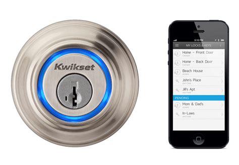 kevo door lock kwikset kevo bluetooth lock now available for 219