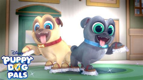 clean  time  video puppy dog pals disney