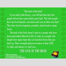 Luck Of The Irish  The Grief Toolbox