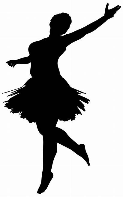 Ballerina Silhouette Clip Onlinelabels