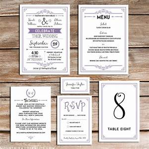 printable lavender diy wedding invitation set With diy wedding invitations software