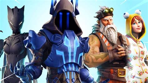 fortnite season  battle pass skins youtube