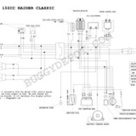 Yerf Gy6 Wiring Harnes Diagram by Yerf 150cc Wiring Diagram Go Kart Buggy Depot
