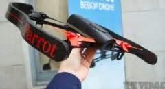 ajout video parrot bebop nouveau drone photo video pilotable par smartphone  tablette lar