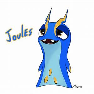 Slugterra: Joules - Tazerling by SrMario on DeviantArt