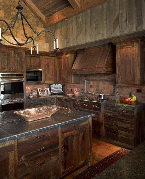 rustic kitchen furniture 299 best rustic kitchens images on log home