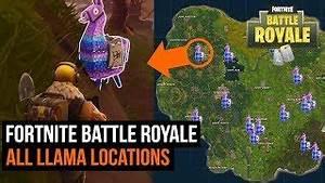 ALL SUPER RARE Llama Locations in Fortnite Battle Royale ...