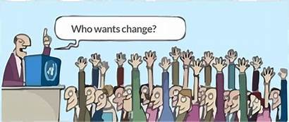 Change Wants Movement Animated Improvement Denial Organizational