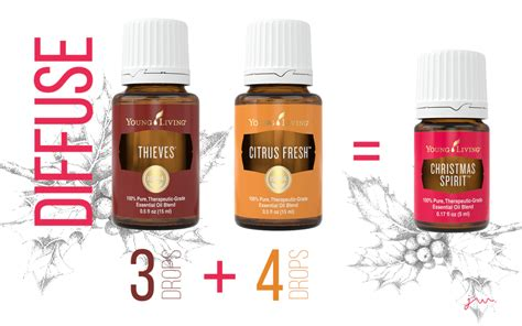 young living thieves and christmas spirit - Young Living Christmas Spirit