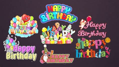 birthday decals set  sanjana sims sims  updates