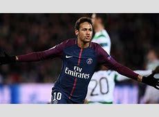 Neymar anota doblete en el PSG vs Celtic por la Champions