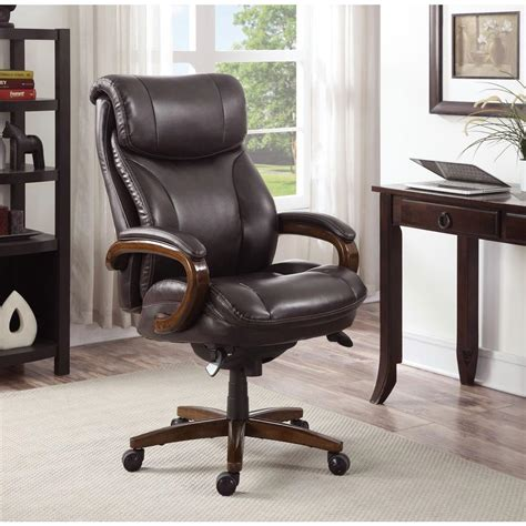 la z boy tafford vino bonded leather executive office