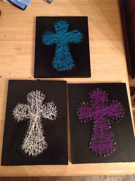 string crosses vbs crafts pinterest