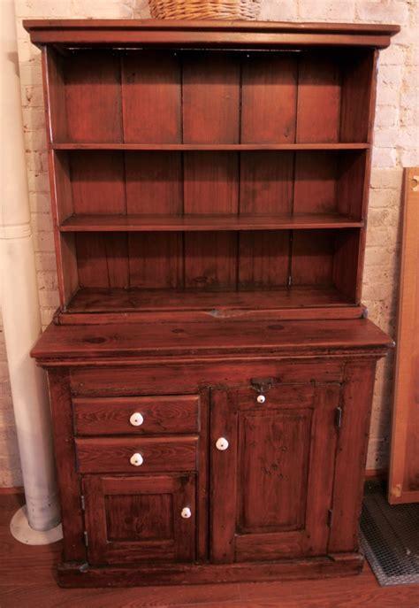 Primitive Cupboard by Antique Primitive Step Back Cupboard Wide