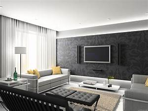 Gray And White Living Room Pictures, Photos, and Images ...