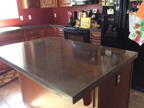 Polished Concrete Countertops